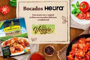 Nuevo lanzamiento Veggie Carretilla: Bocados Heura con tomate y pimientos