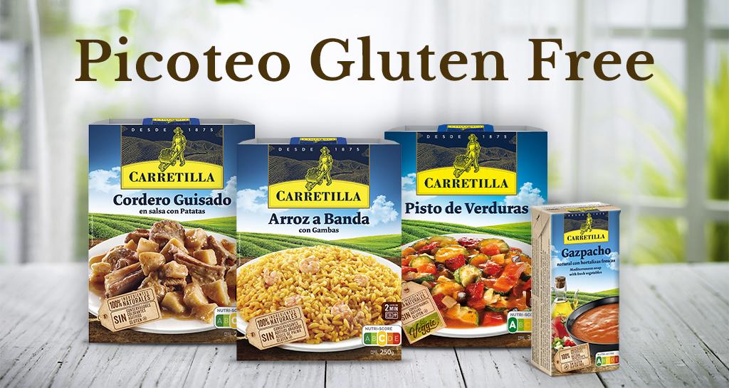 Picoteo Carretilla Sin Gluten