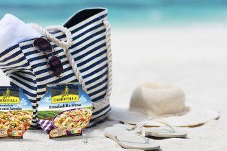 ensaladas para llevar a la playa